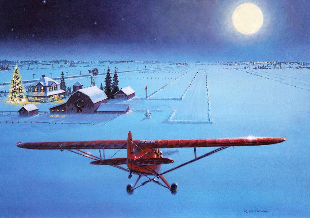aviation christmas eve
