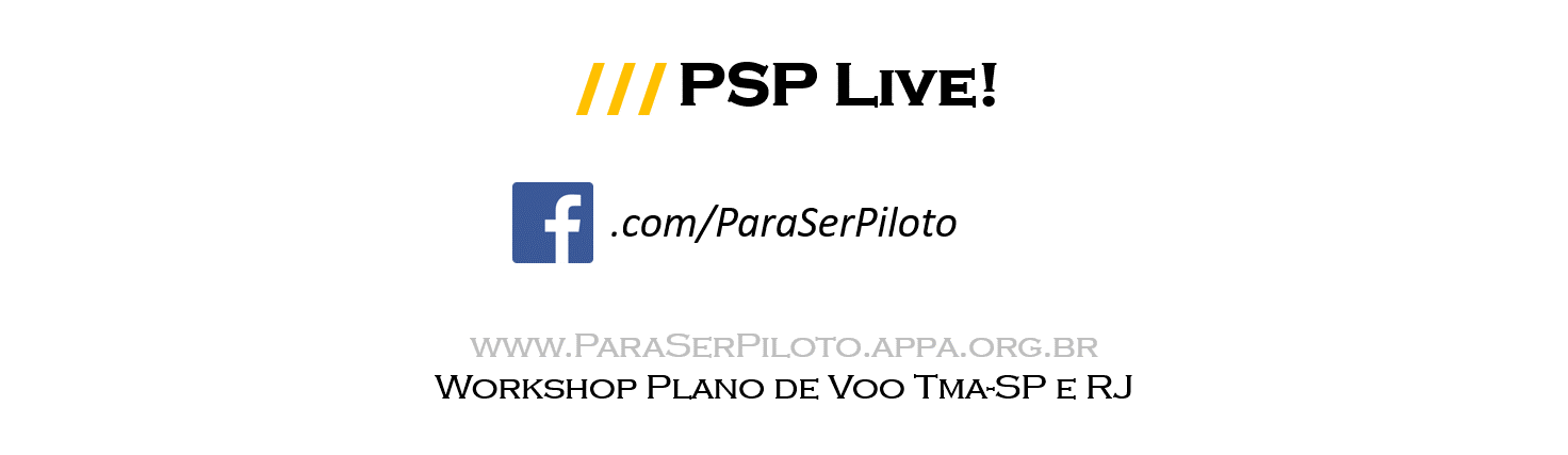 Transmissão ao Vivo: Workshop Plano de Voo