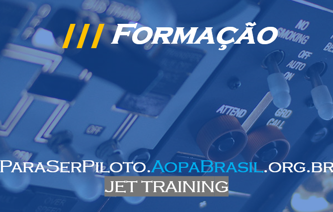 É hora do Jet Training!